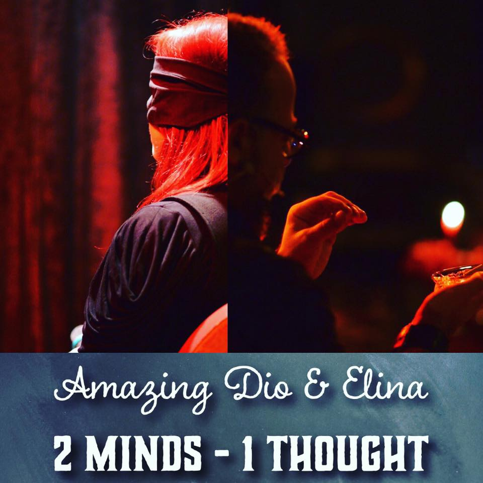 """2 MINDS 1 THOUGHT"" - 2 person telepathy act by Amazing Dio & Elina"