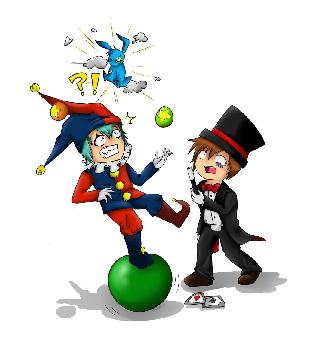 MAGICIAN & CLOWN
